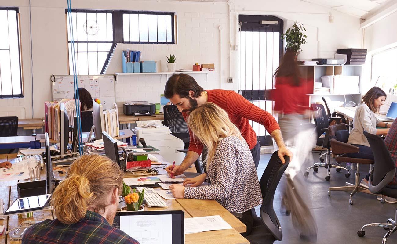 ¿Qué son las oficinas compartidas?